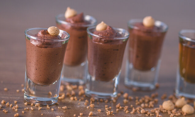 Mousse all'amaretto